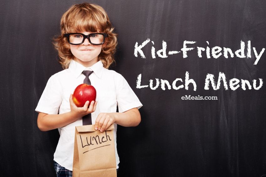 Back to School Lunch eMeals