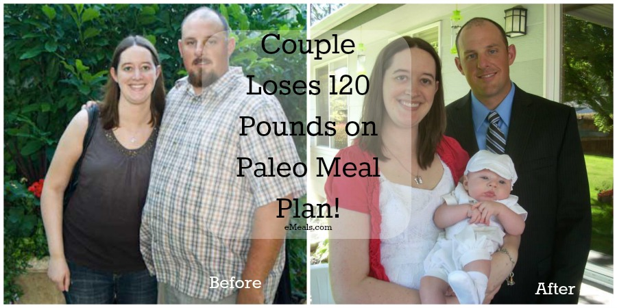 Couple Loses 120 Pounds on Paleo Meal Plan