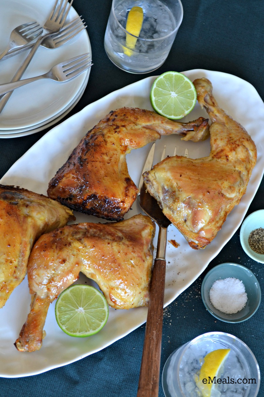 Simple Gourmet Orange Roasted Chicken from eMeals