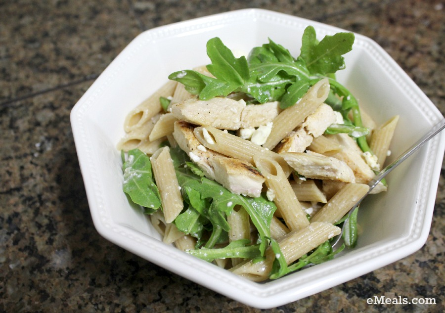Chicken-and-Feta Pasta