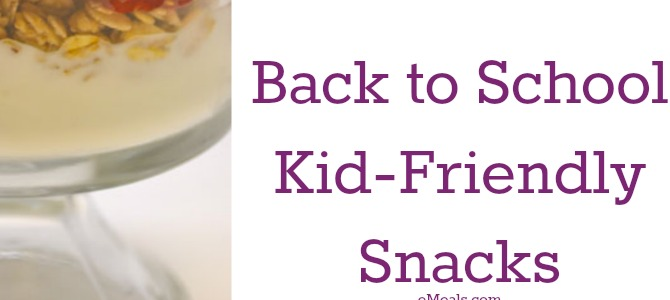 5 Fun Back to School Snacks for Kids