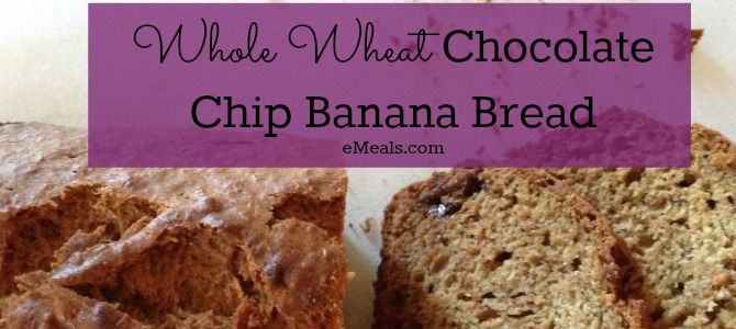 Chocolate Chip Banana Bread Breakfast
