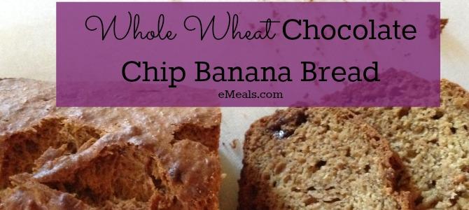 Chocolate Chip Banana Bread Breakfast