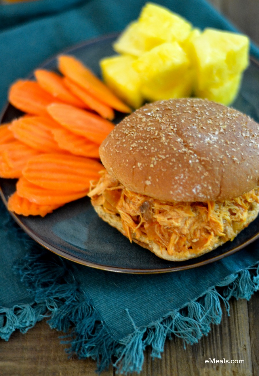 Slow Cooker Weeknight Friendly Hawaiian Chicken BBQ