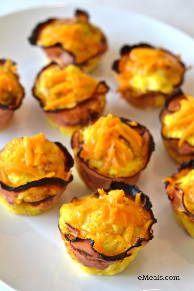 Cheesy Breakfast Cups eMeals