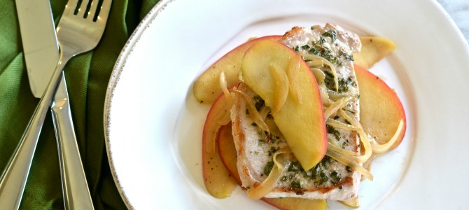 30 Minute Meals: Pork Chops with Apples