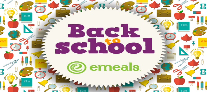 eMeals for Back to School