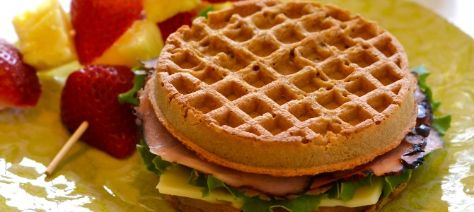 Kid-Friendly Waffle Sandwiches