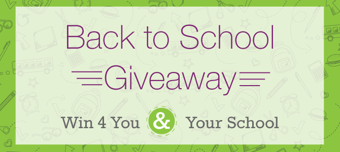 Back to School (Giveaway)