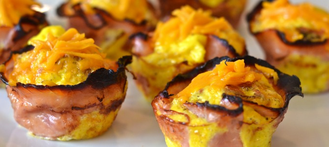 Ham and Cheese Breakfast Cups