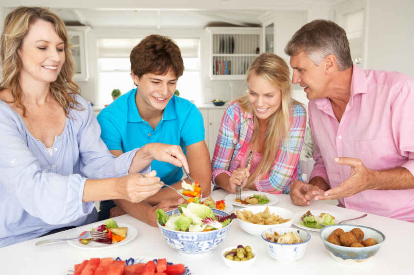 Eat at Home with Your Family Day Activities