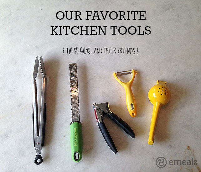 eMeals Favorite Kitchen Tools