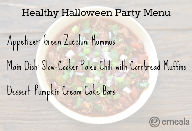 Healthy Halloween Party Menu - eMeals