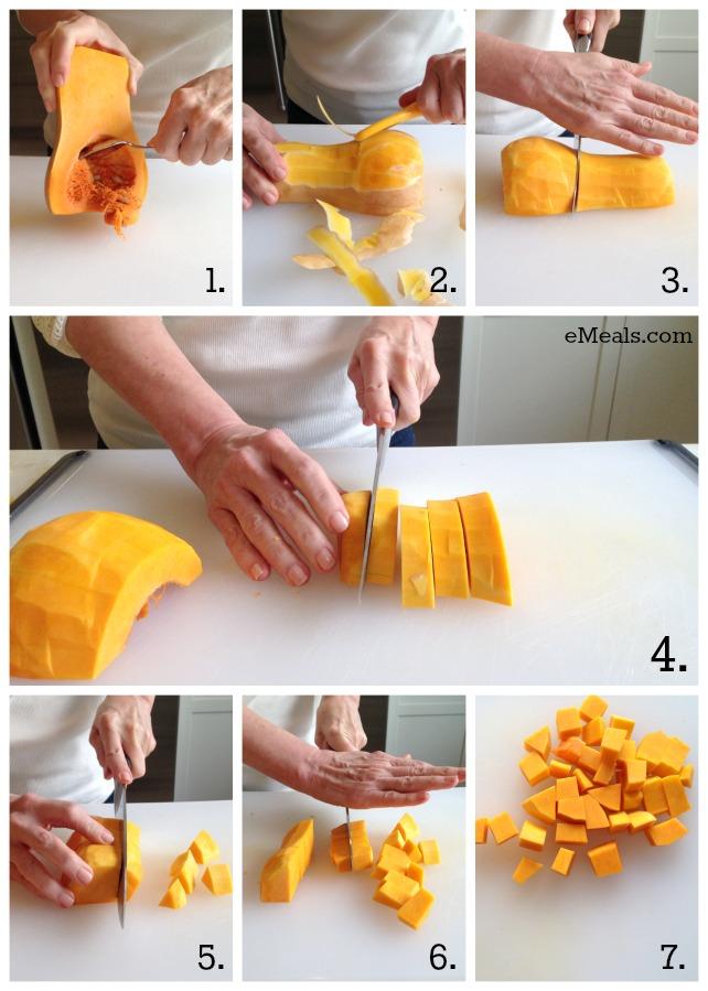 How to Cut Butternut Squash | eMeals