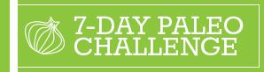 eMeals Paleo Challenge