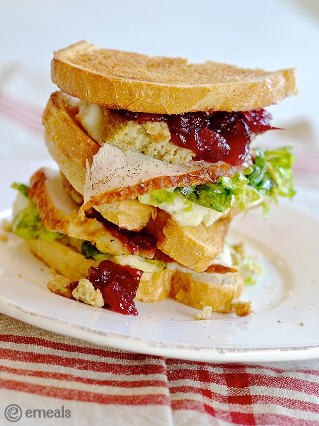 Thanksgiving Turkey Sandwich | eMeals