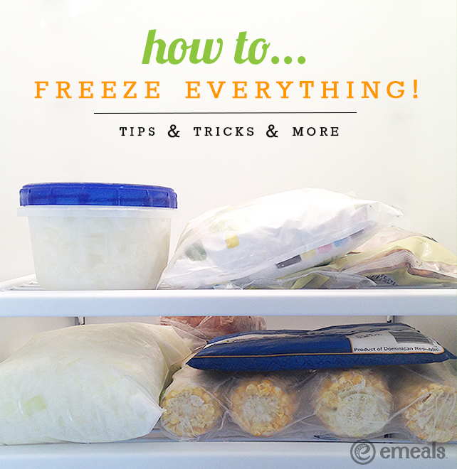How to Freeze Anything for Speedy Suppers | eMeals