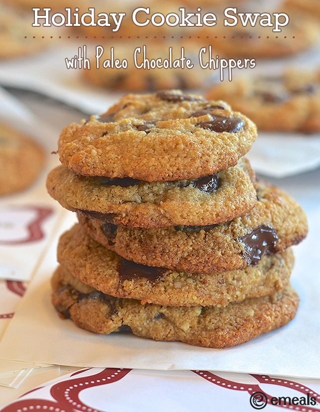 Holiday Cookie Swap with Paleo Chocolate Chippers | eMeals