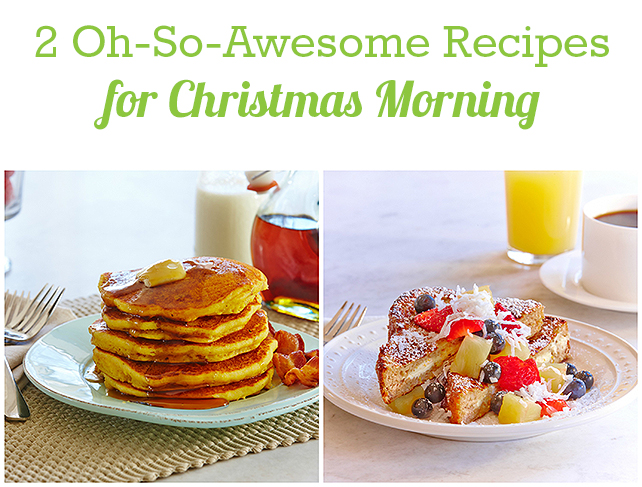 Christmas Morning Recipes | eMeals #eMealsEats