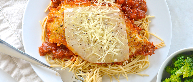 Easy Weeknight Meal: Crispy Chicken Parmesan