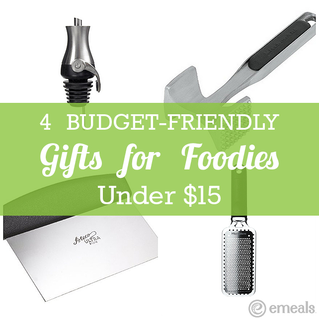 4 Budget-Friendly Gifts for Foodies | eMeals #eMealsEats