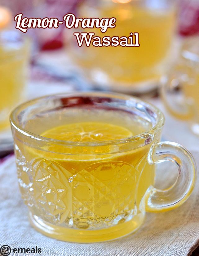 Lemon-Orange Wassail | eMeals #eMealsEats