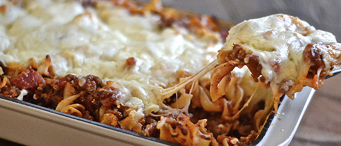 Easy Cheater's Lasagna