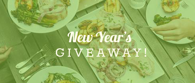 Win a $150 Visa Gift Card in our New Year's Giveaway!
