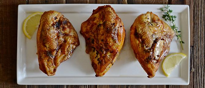 Paleo Lemon-Thyme Chicken Breasts