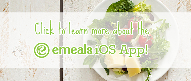 Accessing All Your eMeals Recipes on the iOS App