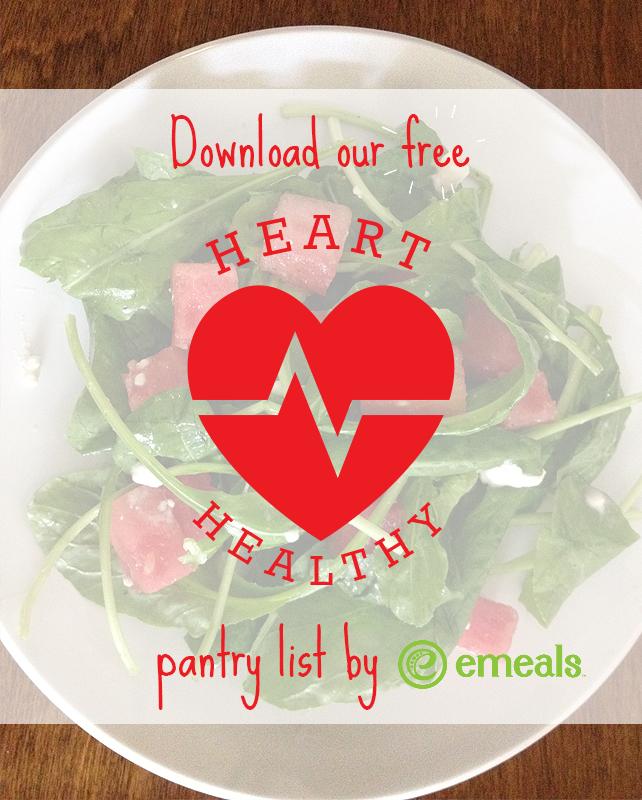 Heart-Healthy Shopping List #eMeals