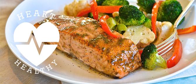 Heart Healthy Recipe: Mustard-Glazed Salmon | #eMealsEats