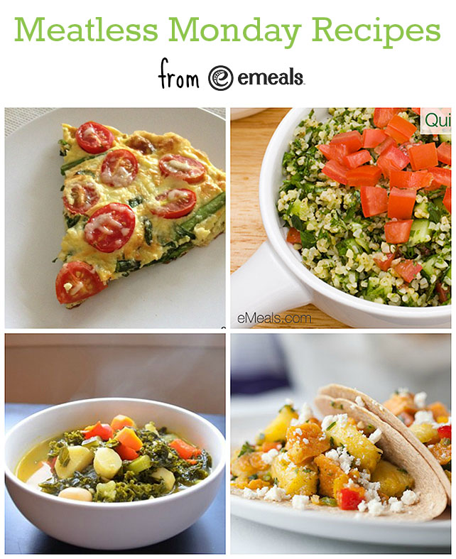 Meatless Monday Recipes from eMeals #eMealsEats #MeatlessMonday