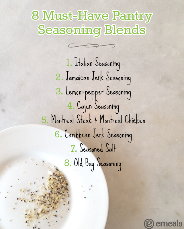 Must-Have Pantry Seasoning Blends | eMeals #eMeals