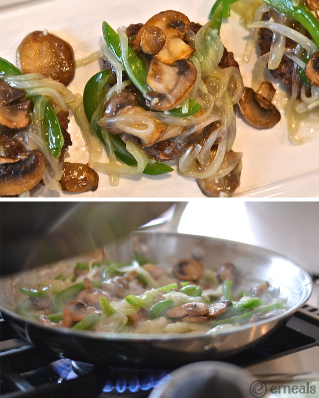 Veggie-Smothered Burgers | eMeals #eMealsEats