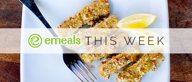 On the Menu This Week: Pecan-Crusted Fish Fingers
