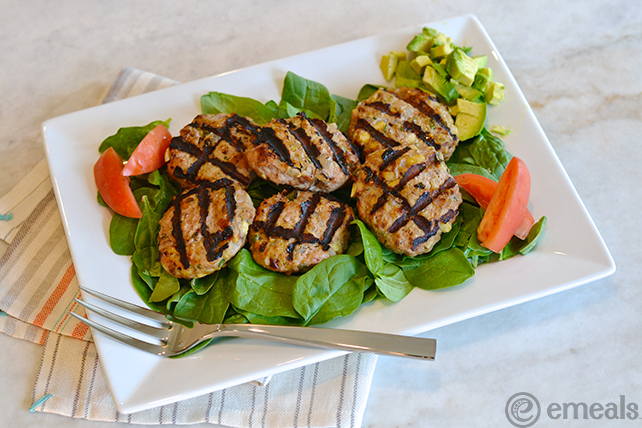 On the Menu This Week: Bacon-Apple Turkey Burgers from eMeals