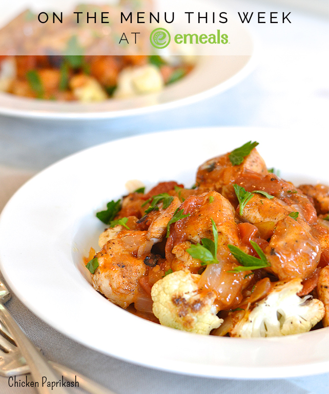 Chicken Paprikash from eMeals