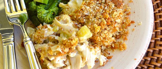 #MakeItClean: Creamy Chicken Casserole