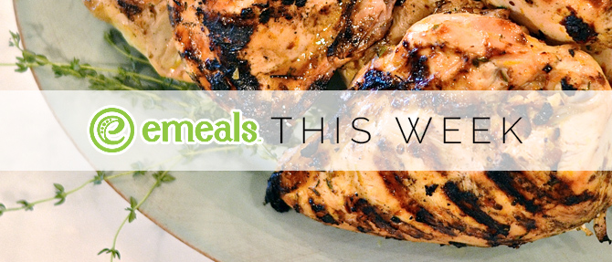 On the Menu This Week: Grilled Mojo Chicken