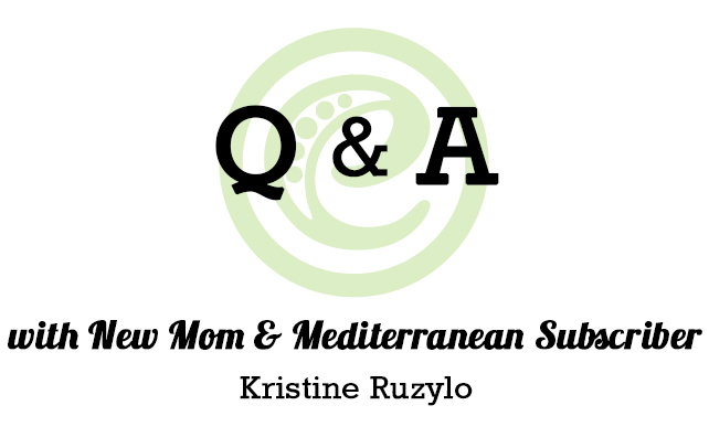 Q&A with eMeals Mediterranean Subscriber Kristine Ruzylo