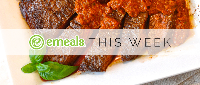 On the Menu This Week: Pan-Seared Steak with Sun-Dried Tomato Sauce