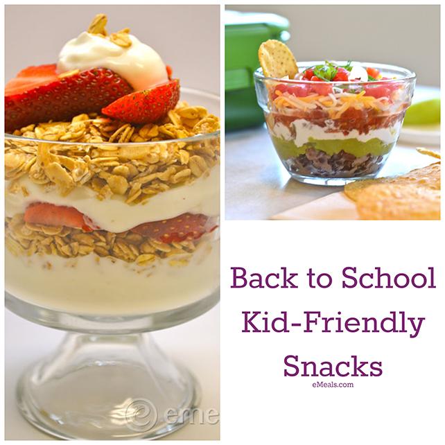 5 Kid Friendly Snacks from eMeals