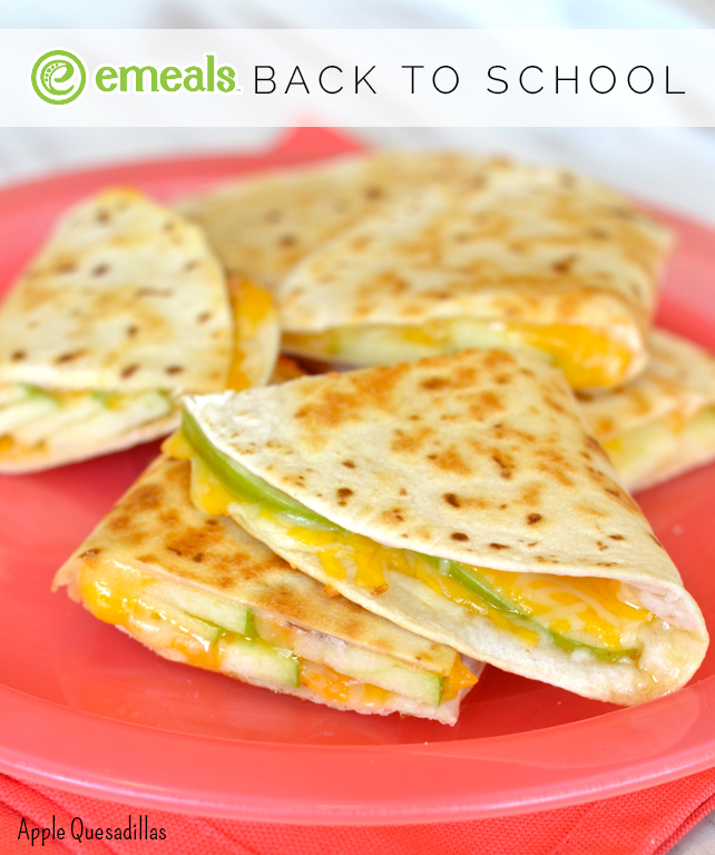 After-School Apple Quesadillas from eMeals