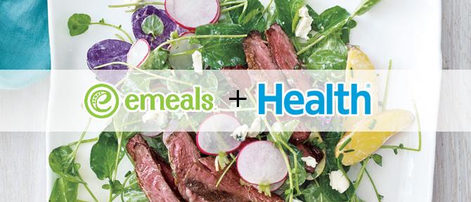 Steak and Potato Salad from eMeals + HEALTH