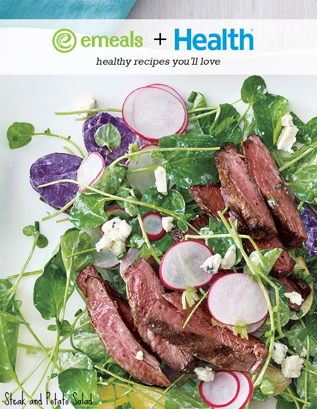 Steak and Potato Salad from eMeals + HEALTH Meal Plan