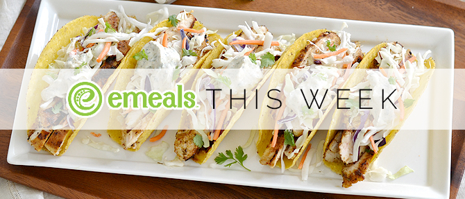 On the Menu This Week: Spicy Chicken Tacos