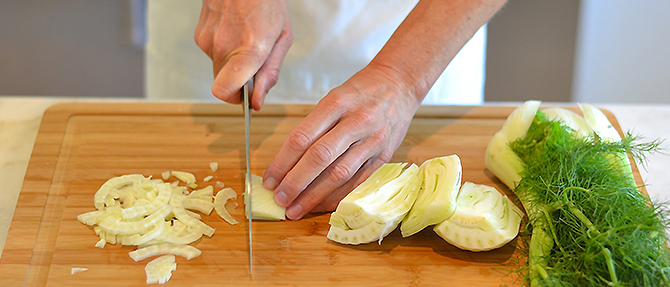 Kitchen Tip: How to Cut Fennel Bulbs