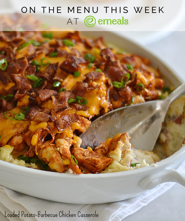 ... This Week: Loaded Potato-Barbecue Chicken Casserole | The eMeals Blog