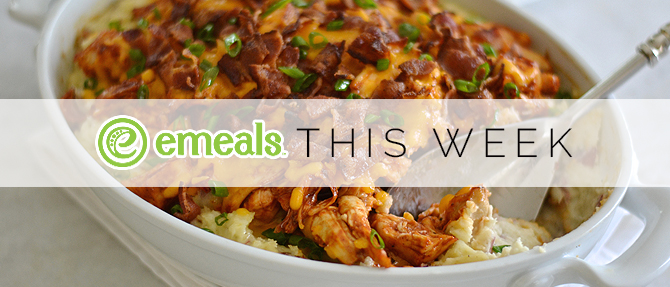 On the Menu This Week: Loaded Potato-Barbecue Chicken Casserole